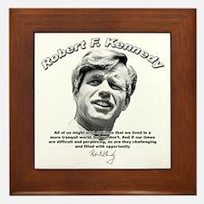 Robert F. Kennedy 01 Framed Tile
