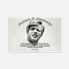 Robert F. Kennedy 01 Rectangle Magnet