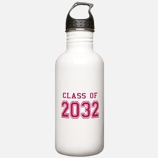 Class of 2032 (Pink) Water Bottle