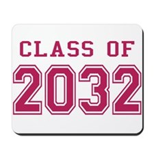 Class of 2032 (Pink) Mousepad