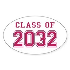 Class of 2032 (Pink) Decal