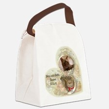 Boris and Bella forever Canvas Lunch Bag
