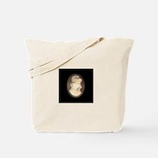Cameo Brooch Tote Bag