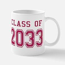 Class of 2033 (Pink) Mug