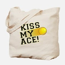 KissMyAce(tennis) copy Tote Bag