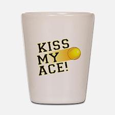 KissMyAce(tennis) copy Shot Glass