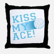 KissMyAce(volleyball) copy Throw Pillow