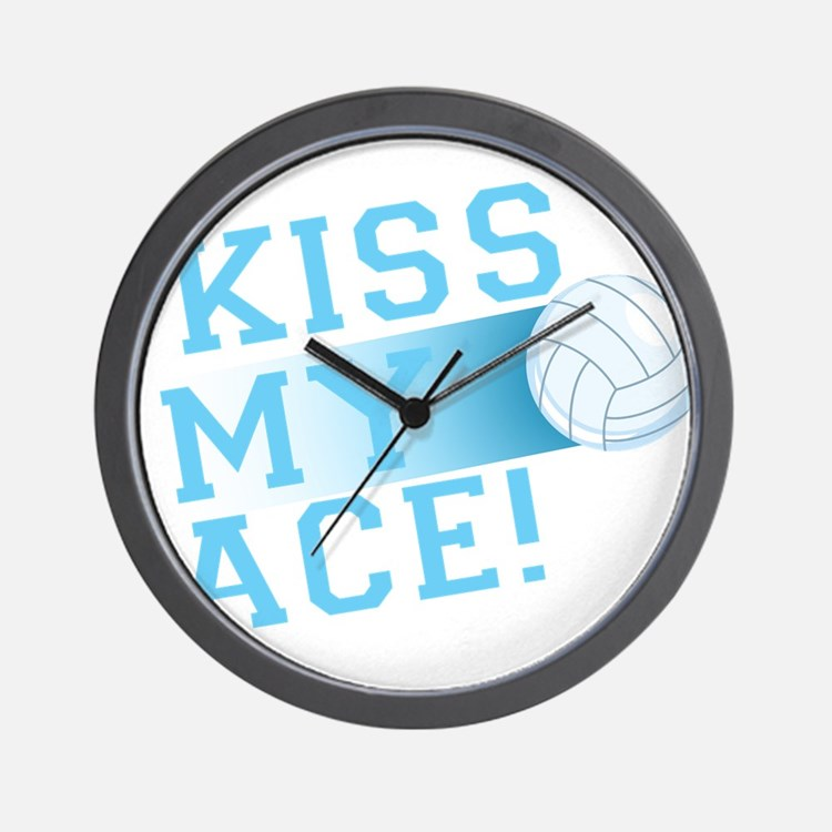 KissMyAce(volleyball) copy Wall Clock