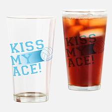 KissMyAce(volleyball) copy Drinking Glass