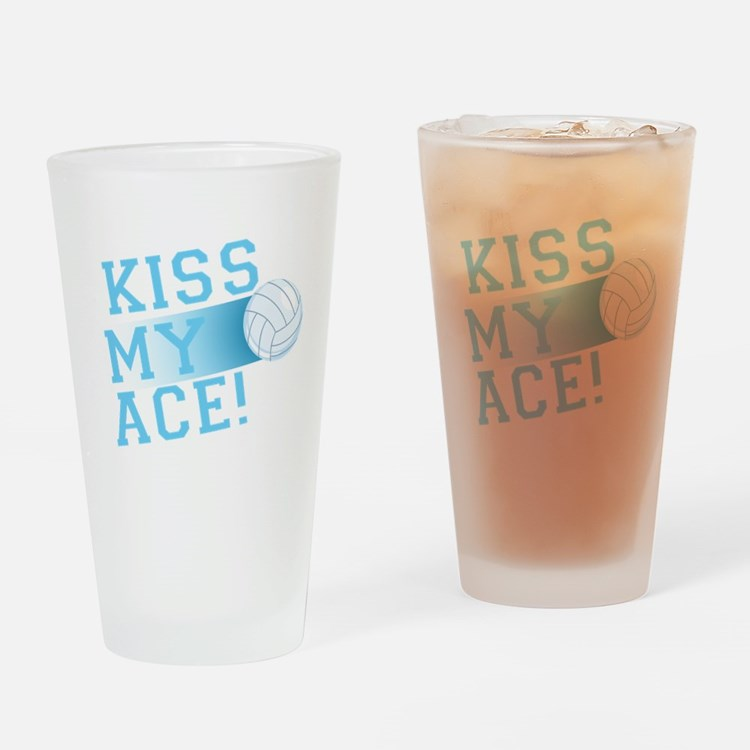 KissMyAce(volleyball) copy Drinking Glass
