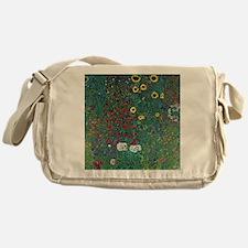 Farmergarden Sunflower by Klimt Messenger Bag