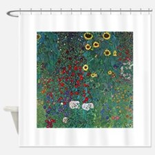 Farmergarden Sunflower by Klimt Shower Curtain