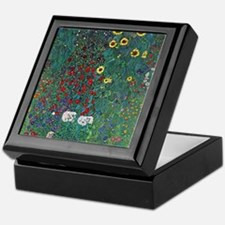 Farmergarden Sunflower by Klimt Keepsake Box