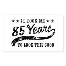 Funny 85th Birthday Decal