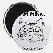 Team Minion Front Magnet