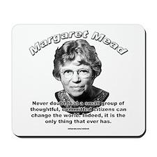 Margaret Mead 01 Mousepad