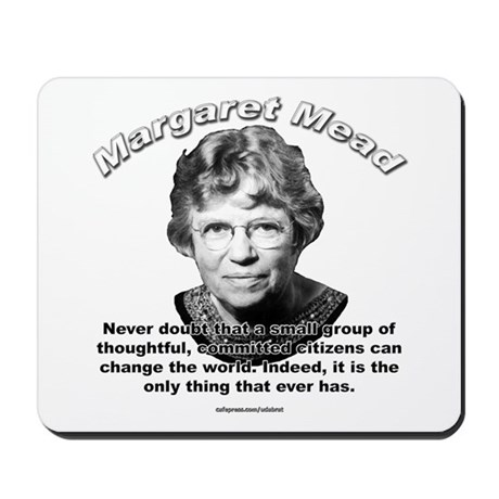 Margaret Mead 01 Mousepad