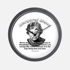 Margaret Mead 01 Wall Clock