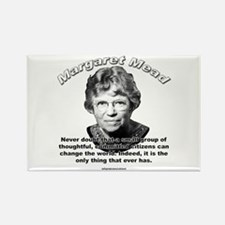 Margaret Mead 01 Rectangle Magnet