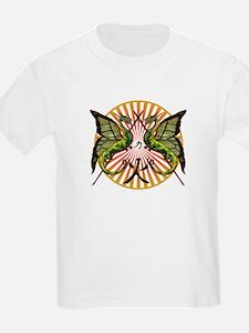 Dragon with Kanji symbols T-Shirt