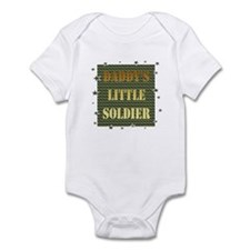 Daddy's Soldier Infant Bodysuit