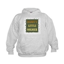 Daddy's Soldier Hoodie