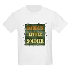 Daddy's Soldier Kids T-Shirt