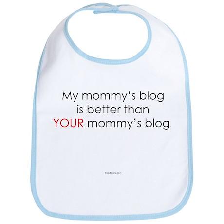 My Mommy's Blog is Better Bib