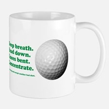 Funny How to Play Golf Shirt Design Mug