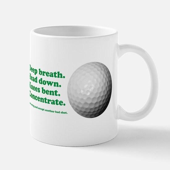 Funny How to Play Golf Shirt Design Mug