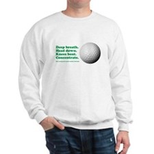 Funny How to Play Golf Shirt Design Sweatshirt