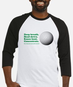 Funny How to Play Golf Shirt Design Baseball Jerse