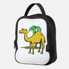 Cute camel Neoprene Lunch Bag