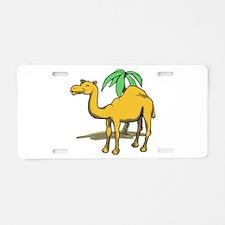 Cute camel Aluminum License Plate