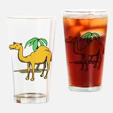 Cute camel Drinking Glass