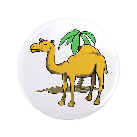 "Cute camel 3.5"" Button"