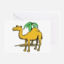 Cute camel Greeting Card