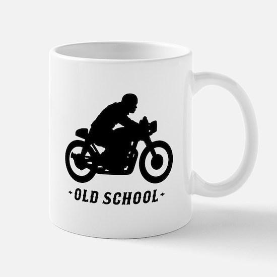 Old School Cafe Racer Mug