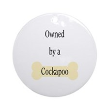 Owned by a Cockapoo Ornament (Round)