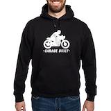 Cafe racer Hoodie (dark)