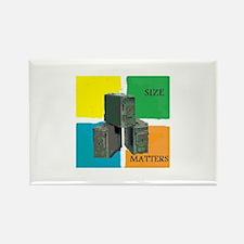 SIZE MATTERS.jpg Rectangle Magnet