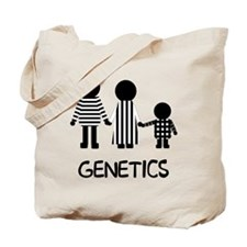 Genetics Stripes Tote Bag
