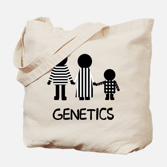Genetics Stripes Tote Bag