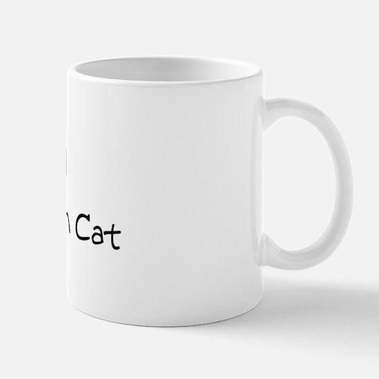 Love My Wild Abyssinian Cat Mug