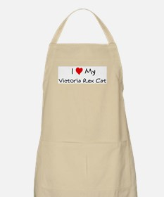 Love My Victoria Rex Cat BBQ Apron