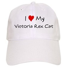 Love My Victoria Rex Cat Baseball Cap