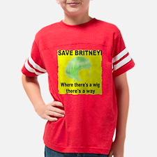 SAVEBRITNEYTRANS Youth Football Shirt