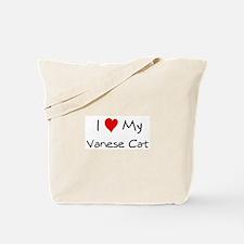 Love My Vanese Cat Tote Bag