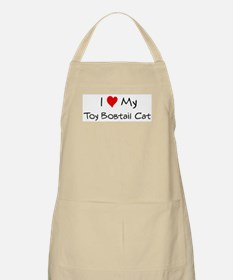 Love My Toy Bobtail Cat BBQ Apron