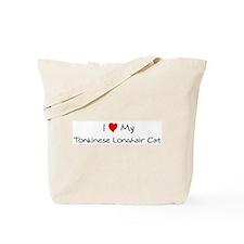 Love My Tonkinese Longhair Ca Tote Bag